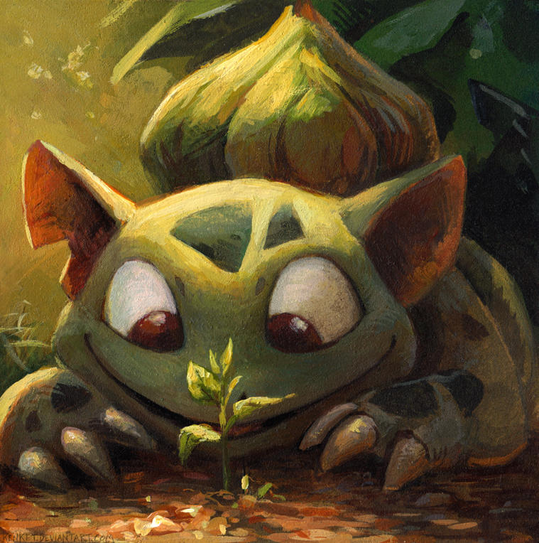 Bulbasaur by kenket