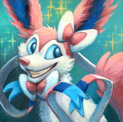 Sylveon by kenket