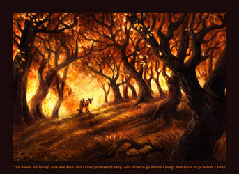 Whose woods are these... by kenket