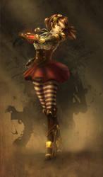Steampunk Girl by Haruhi003