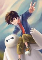 BIG HERO 6 by Haruhi003