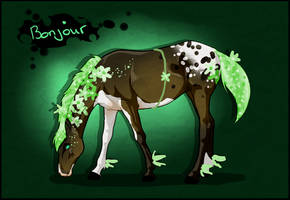 K3221 NGS Bonjour - FlowPow Stallion by KimboKah