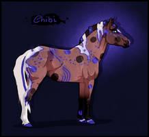 K3150 NGS Chibi - Etitor LiveWire Stallion by KimboKah