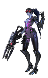 Widowmaker - Overwatch by PlanK-69