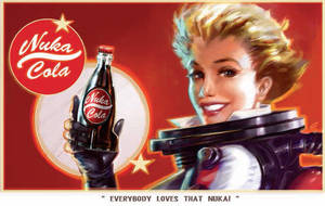 Nuka Cola Advert - Fallout 4 by PlanK-69