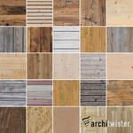 25 Seamless Wood Textures by architwister