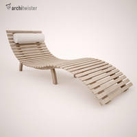Sunbed (3D Model) by architwister