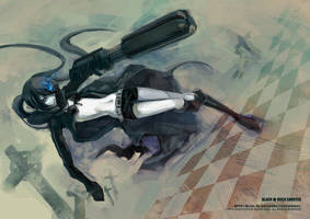 BLACK ROCK SHOOTER3 by HsiaoKAI