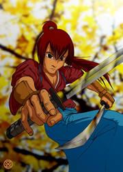 Kenji Himura by zxwart