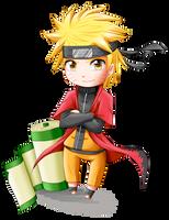 Chibi Naruto sennin by Thanysa