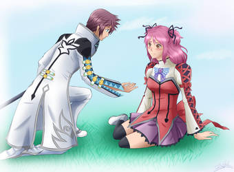 ToG: Asbel and Cheria by Thanysa