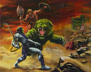 He-Man - King Of Grayskull by SiMoSol