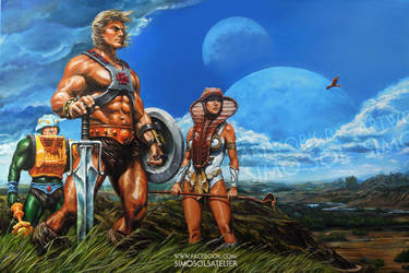 He-Man - Guarding the Safety of Eternia by SiMoSol