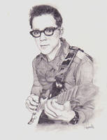 Rivers Cuomo by fading-innocence