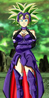 Commission - Kefla wearing Jeanne d'arc armor by FoxyBulma