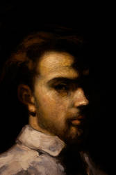 Portrait of a Man by DeLumine