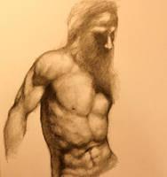 Torso Study - Sketch by DeLumine