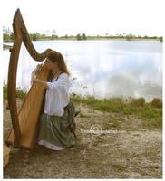 Harp Lake by Violettte