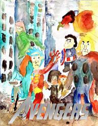 Cartoon Network Avengers by thearist2013