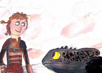 HTTYD The Hidden World Ghibli style by thearist2013