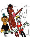 Happy Birthday Bojack by thearist2013