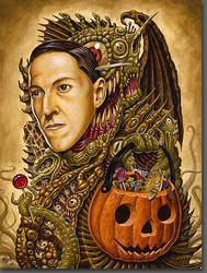 Costume of Cthulu by tat2pooch