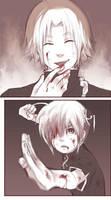 Sketch comic?:Kagura+Kamui by semokan