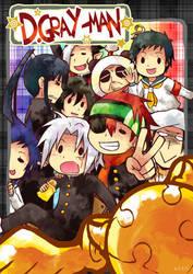 POSTCARD:anime omake DGM by semokan