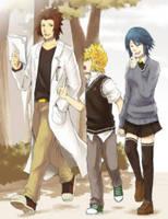 KHS: The Trio by semokan