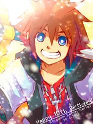 Happy Birthday Kingdom Hearts! by semokan