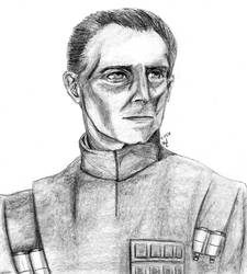 Grand Moff Tarkin by RearRabbit