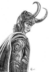 Loki - God of Mischief by RearRabbit