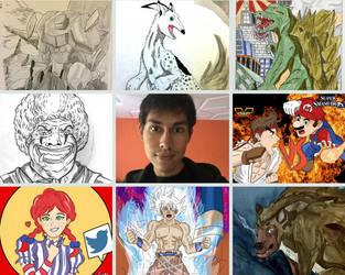 My Art vs Artist 2018 meme by MysteriousWarrior123