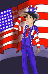 Happy 4th of July! by MysteriousWarrior123