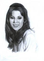 Kathryn Leigh Scott by WiekeR