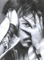 Johnny Depp by WiekeR