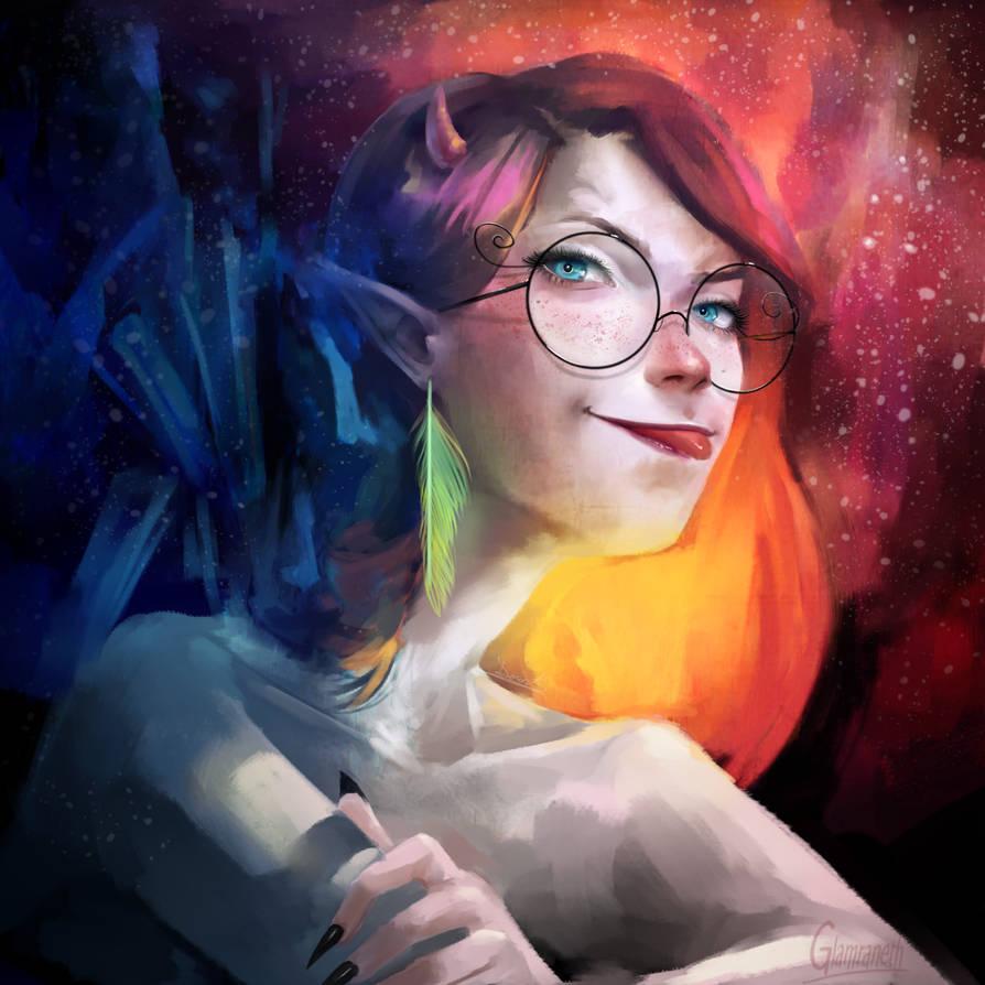 Astral Girl by Glamra