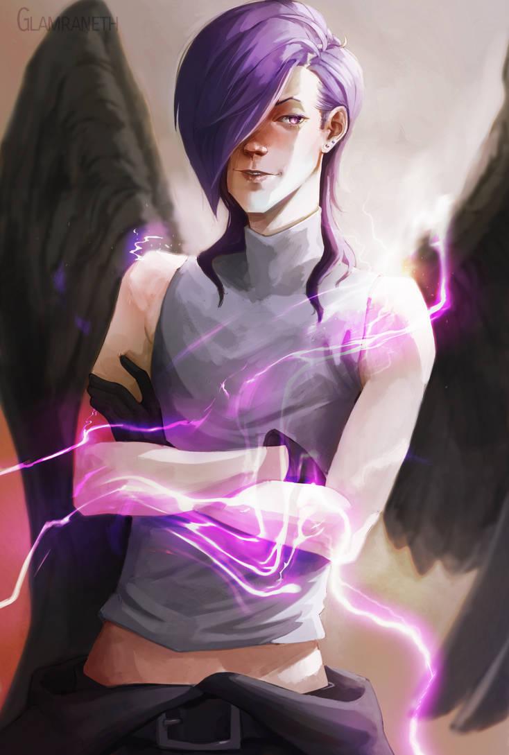 (Hataraku Maou-Sama!) Lucifer by Glamra