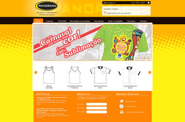 Panorama T-shirt On-line Store by midiaprata