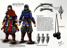 Game Arte Assassin's Creed Guerra dos Farrapos by RenatoMZacarias
