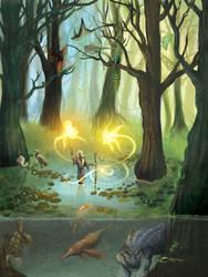 Indigenous Sorcery by kiki-doodle