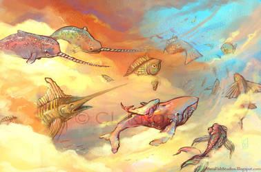 Celestial Migration by kiki-doodle