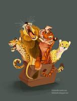 Box Cats by kiki-doodle
