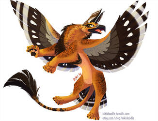 Spotted Griffon by kiki-doodle