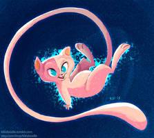 #151 Mew by kiki-doodle