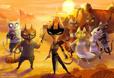 Mad Max: Purry Road by kiki-doodle