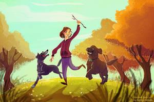 Running by kiki-doodle