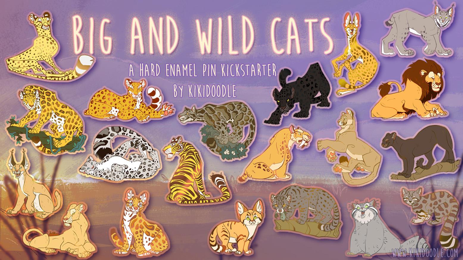 2 days left in Big And Wild Cat Kickstarter by kiki-doodle