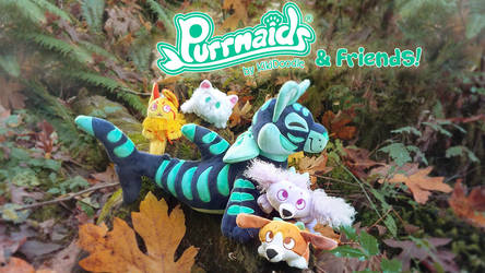 NEW Purrmaids and Friends Kickstarter LIVE by kiki-doodle