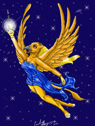 Hanging the North Star by sabbathsilverclaw